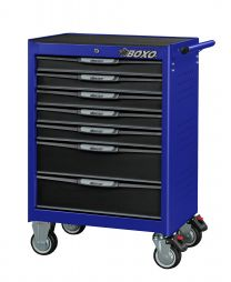 BOXO Gereedschapswagen 7 laden MIS-systeem blauw
