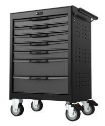 BOXO Gereedschapswagen met 7 laden en digitaal slot - zwart/grijs