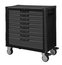 BOXO XL Gereedschapswagen met 8 laden en MIS-systeem Elite zwart-grijs